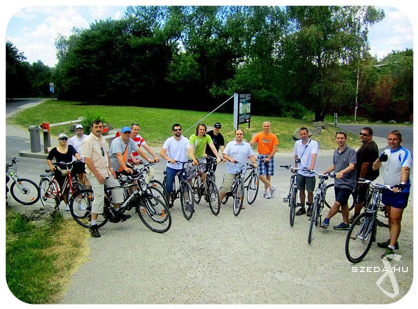 Kerékpáros teambuilding csapatépítő program